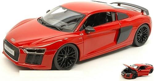 envío rápido en todo el mundo Maisto MI36213R Audi R8 2015 rojo 1 18 MODELLINO MODELLINO MODELLINO Die Cast Model Compatible con  auténtico