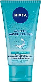 Nivea Anti-Pickel Wasch-Peeling gegen unreine Haut, 1er Pack 1 x 150 ml, reinigt intensiv & verfeinert das Hautbild