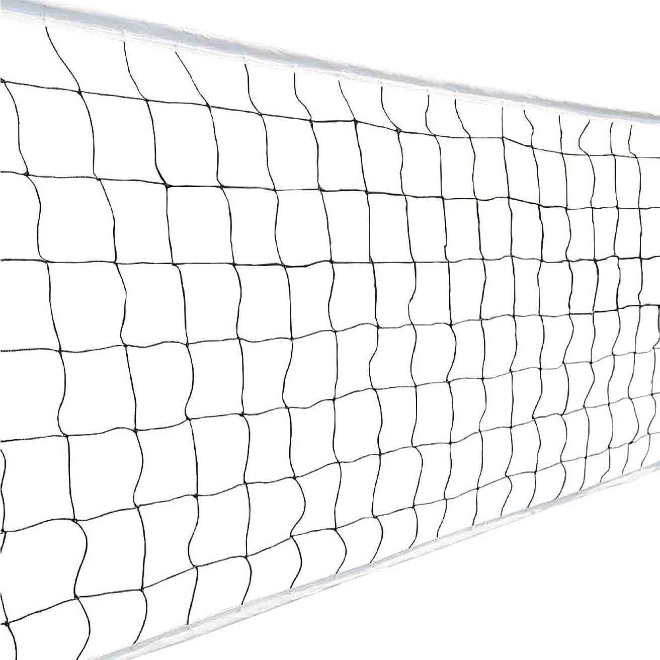提供するモード放棄された(アワンキー) Aoneky バレーボール ネット 6人制 取り替え 組み立て簡単 携帯便利 ビーチバレー 練習用 トレーニング 試合 バッグ付き