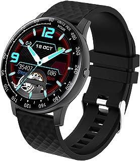 Smart Watch Dames en Heren, Waterdicht IP67 Slim Horloge Sport Activiteit Armband met Slaapmonitor, Hartslagmeter, Stappen...