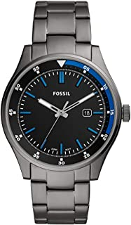 Fossil Mens Quartz Watch, Analog Display and Stainless Steel Strap 796483440173