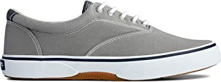 Men's Sperry, Halyard Lace up Shoe Gray 14 M