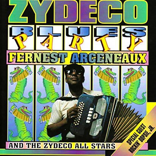 Fernest Arceneaux & The Zydeco All Stars, The Zydeco All Stars & Rockin' Dopsie, Jr.