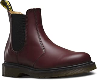 Dr. Martens Womens 2976 Cherry Red Leather Boots 8 US