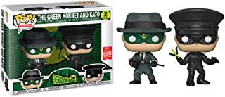 Pop! The Green Hornet and Kato (2-Pack) [SDCC] Toy Tokyo Sticker Exclusive Vinyl Figure
