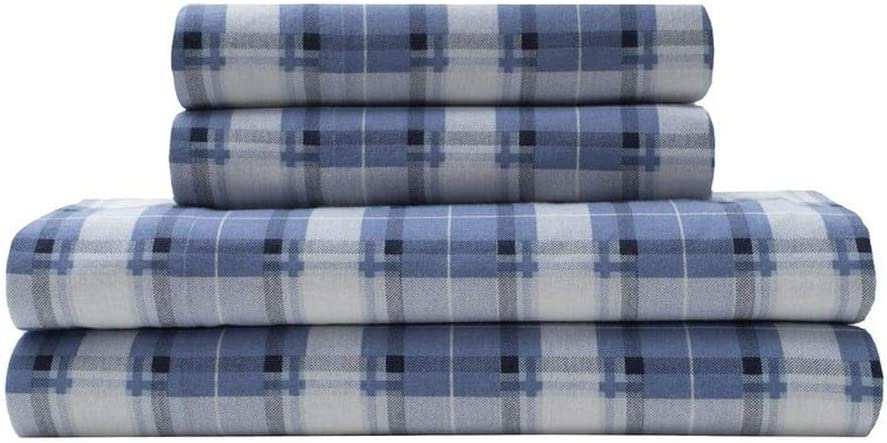 3 Piece Cabin Lodge Theme Winter 2021 spring and summer new Easy-to-use S Sheets Twin Flannel Christmas