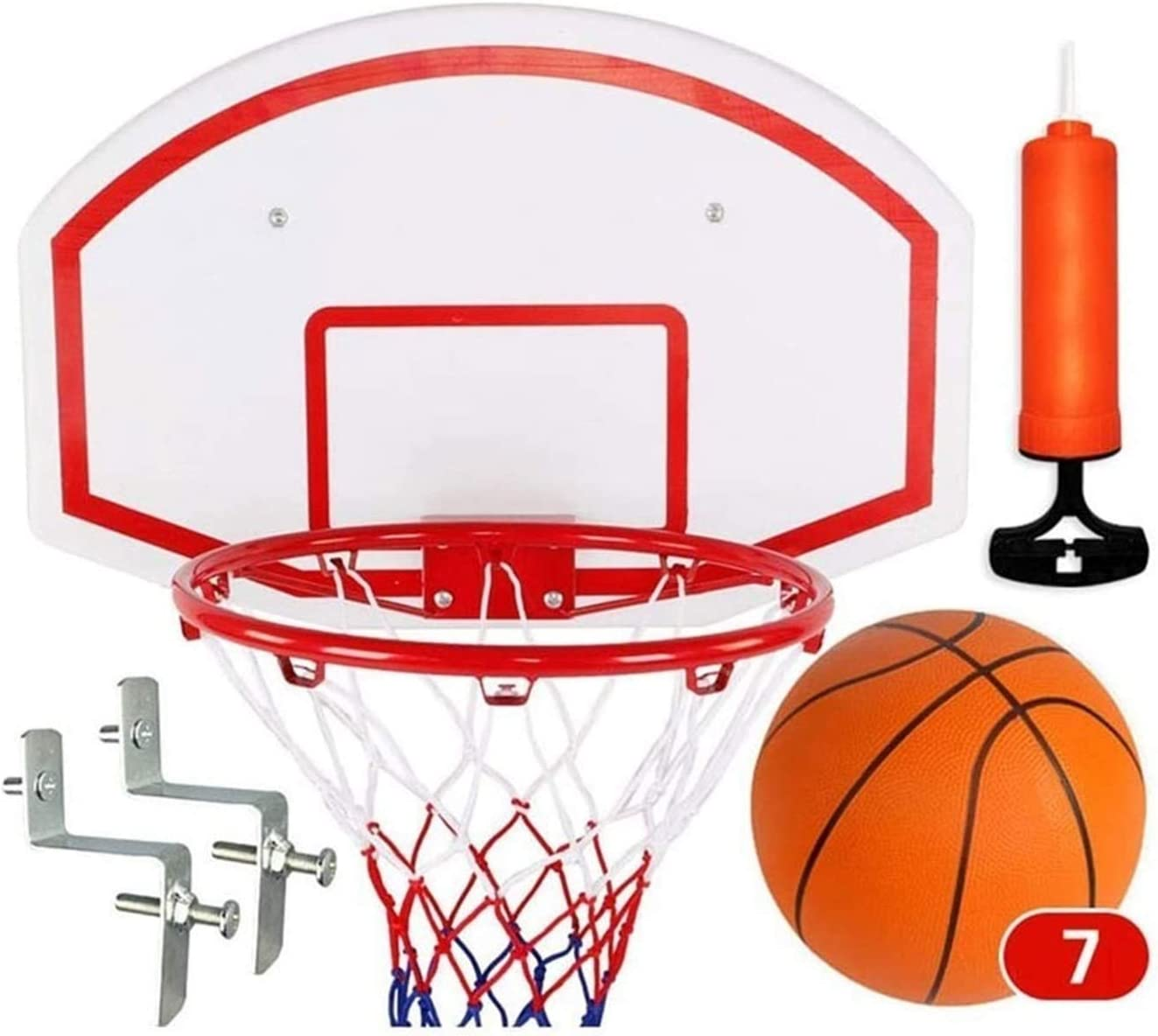 Atlanta Mall SMLZV Basketball Wall-Mount Boards Kids NEW Basketbal Outdoor Indoor