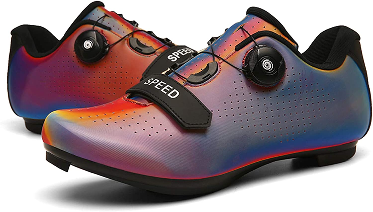 Breathable Stable Comfortable Rider Shoes Indoor Cycling Spin Shoes Cycling Shoes Men Women Road Cycling Mountain Biking Compatible SPD//SPD-SL