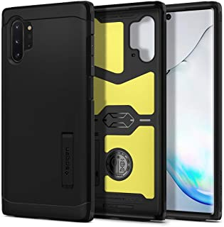 Spigen Case for Samsung Galaxy Note 10 PLUS Case,High Protection Flexible TPU Hard PC Back, kickstand, Black