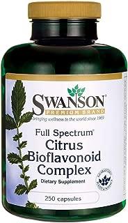 Swanson Full Spectrum Citrus Bioflavonoid Complex 250 Caps