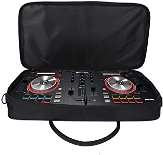 Gig Bag For Micro Controllers, Padded Carrying Bag, Heavy Duty DJ Controller Carrying Case With Shoulder Straps And Carry ...