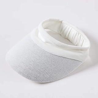 Elastic Sun Hats Sports Visor Hat for Women Men, Cotton Soft Solid Color Summer UV Sun Protection Cap, for Beach Baseball Golf Tennis Running Travel