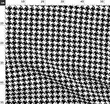 Hahnentritt, Geometrisches Muster, Kätzchen, Katze Stoffe