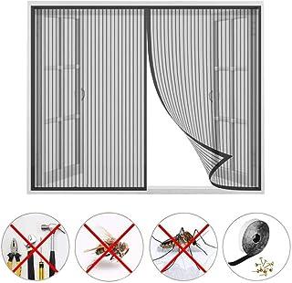 PLYY Mosquitera Ventana Magnetica, Pegajoso Cortina, No Requiere PerforacióN, Todos Los Tamaños, Pantalla contra Insectos, para Ventana Correderas