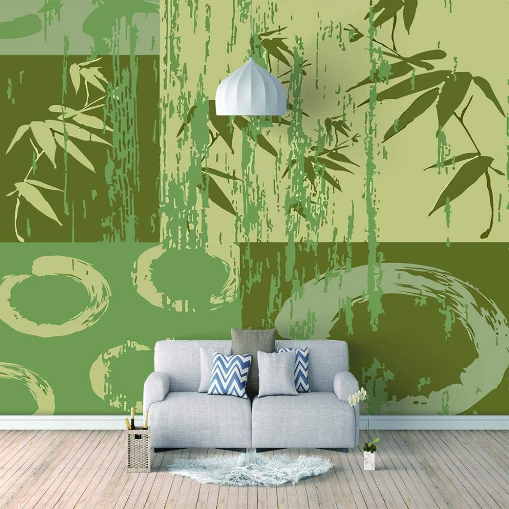 Mesa Mall ZXDHNS Photo Wallpaper Wall Mural Plant Fashion - Green Backgrou Our shop OFFers the best service