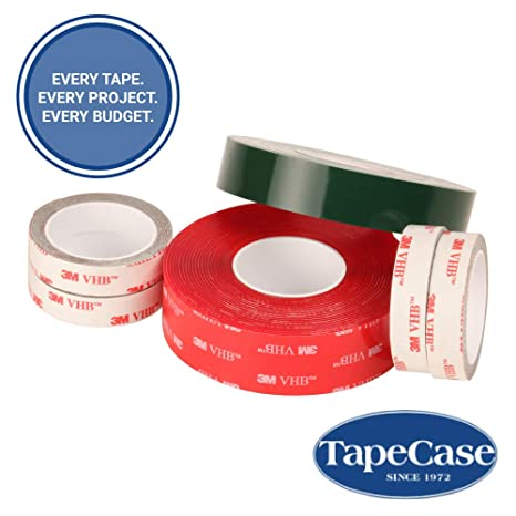 3M 4926 Gray Double Sided Conformable Acrylic Foam Tape roll of 250 0.5 Diameter Circles