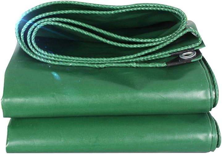 WKHQQ-Bache extérieure Camion de bache imperméable à l'eau de Prougeection Solaire bache de Toit antipoussière Coupe-Vent Hangar Tissu Haute température Anti-vieillisseHommest Vert bache