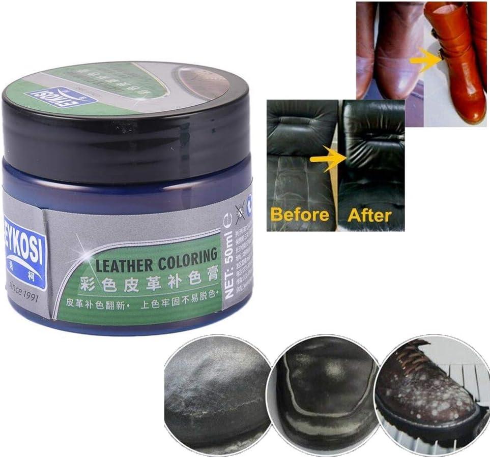 impasto per il rivestimento dellagente per la riparazione dellauto Set di agenti per la riparazione della pelle agente di riparazione del balsamo per la pelle del seggiolino auto del divano