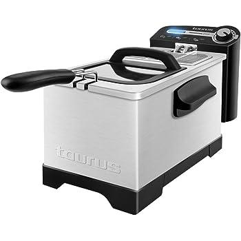 Cecotec Freidora CleanFry 3L, Capacidad de 3 l, Temperatura hasta 190ºC, Cubeta Esmaltada apta para Lavavajillas, Filtro que mantiene el Aceite Limpio, 2000W: Amazon.es: Hogar