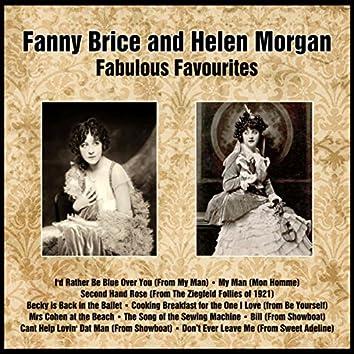 Fanny Brice and Helen Morgan Fabulous Favourites