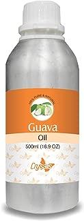 Crysalis Guava (Psidium Guajava) Oil 100% Pure & Natural Undiluted Uncut Carrier Oil 500ml
