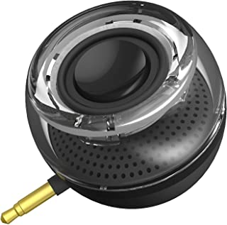 Merlin Sonic Orb Mobile Phone Speaker With Aux Audio Interface Speaker for MP3 Player, Tablet with 3.5mm Connector Portabl...