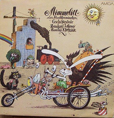 Lakomy, Reinhart / Ehrhardt / Monika / Mimmelitt das Stadtkaninchen / 1983 / Bildhülle Innenhülle mit bedruckter Original Innenhülle / AMIGA # 845273 / Deutsche Pressung / 12