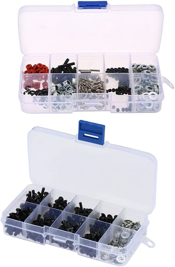 New color Baoblaze Repair Tool Opening large release sale Screw Box Kit for HSP 1 SCX10 Axial 10 D90