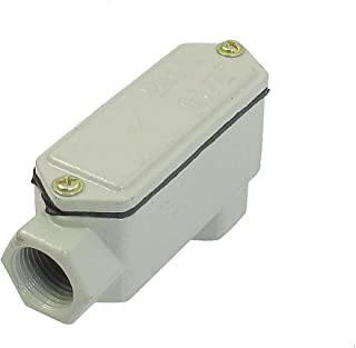 Aexit Metal Cover Audio & Video Accessories 2 Right Angle Hub Explosion-Proof Conduit Connectors & Adapters Box G1/2