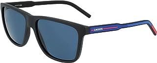 Sponsored Ad - Lacoste Men's L932S-001 Rectangular Sunglasses, Matte Black, 57/15/145