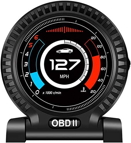 popular ikikin Head up Display for OBD2 System Car,Display with Vehicle popular Speed RPM Turbine Pressure OverSpeed Warning Water Temperature,HUD Display with Intelligent Power Saving, Automatic Switch popular Machine,F10 sale