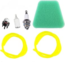 Savior 530037793 Air Filter 530095646 Fuel Filter Spark Plug 530047721 Primer Bulb 6616 6617 Fuel Lines Repair Kits for Poulan Craftsman Chainsaws Trimmers Brush Cutter Blower