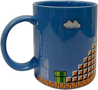 Super Mario Bros Screen Shot Musical Ceramic Coffee Mug, 16oz