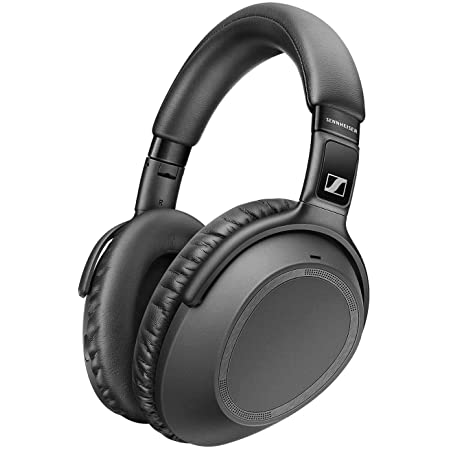 SENNHEISER PXC 550-II Wireless NoiseGard Adaptive Noise Cancelling, Bluetooth Headphone with Touch Sensitive Control and 30-Hour Battery Life, Black