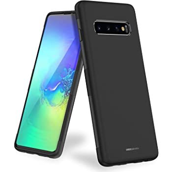 UNBREAKcable Samsung Galaxy S10 Case – Soft Frosted TPU Ultra-Slim Samsung Galaxy S10 Stylish Protective Cover for 6.1-inches Samsung Galaxy S10 [Drop Protection, Non-Slip] – Black