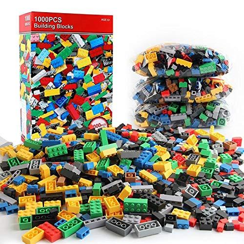 Rich Taste Building Blocks 1000 PCS Building Bricks Construction Building...