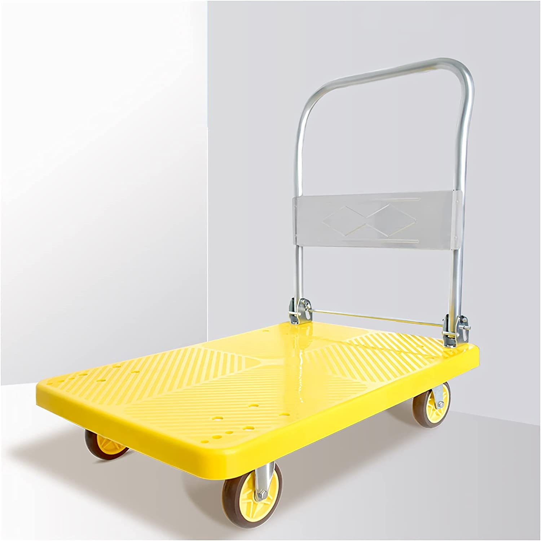 DALIZHAI777 Platform Cart Some reservation Folding Durable Truck NEW Plastic