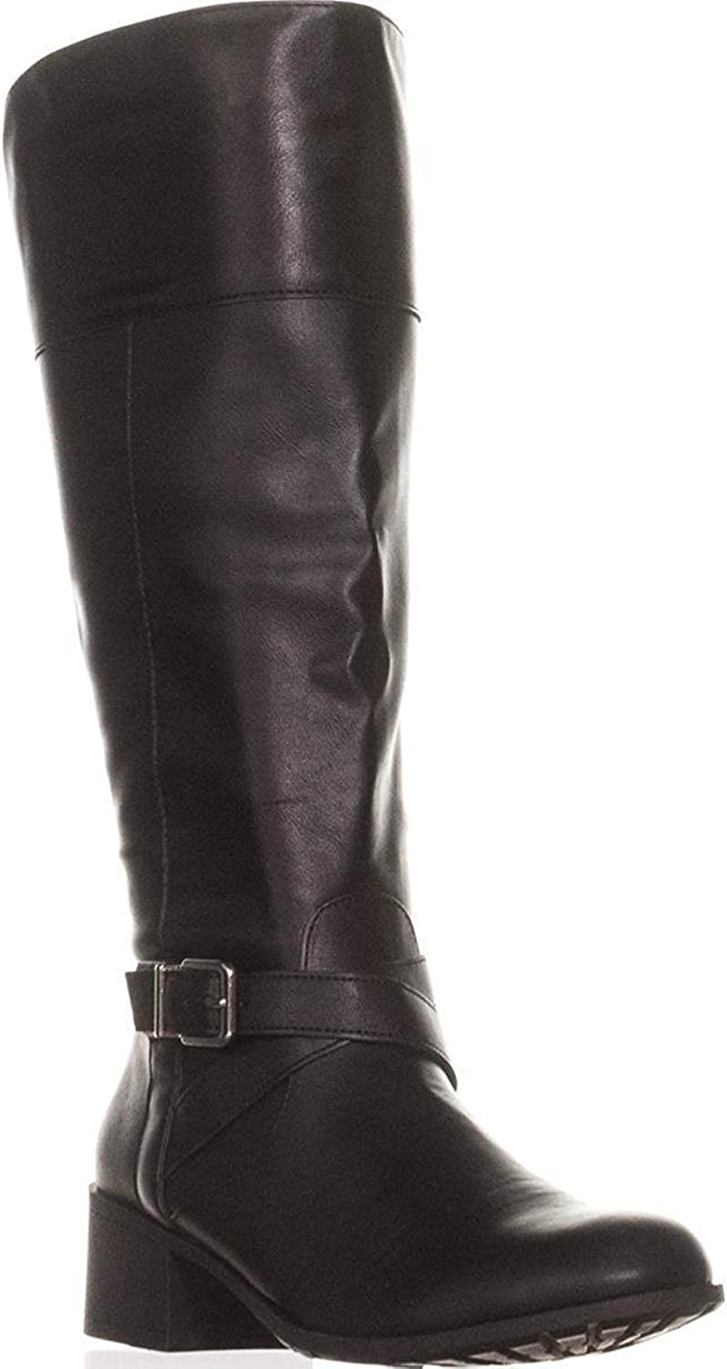 Style & Co. Womens Venesa Round Toe Knee High Fashion Boots, Black, Size 6.0