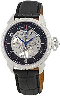Lucien Piccard Men's LP-40052M-01 Trevi Analog-Display Mechanical Hand-Wind Black Watch
