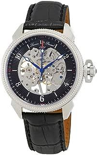 Men's LP-40052M-01 Trevi Analog-Display Mechanical Hand-Wind Black Watch
