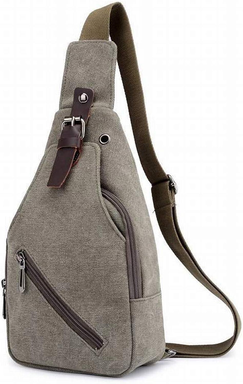 e4451a63448b Creative Fashion Chest Bag Universal Headphone Jack Outdoor Shoulder ...