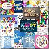 Pack of 20 Mixed Happy Birthday ...