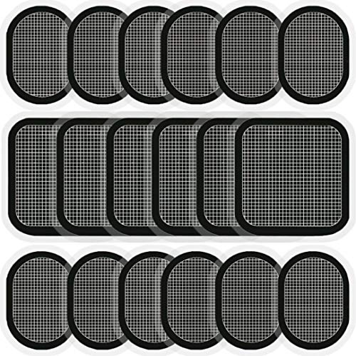 KOLOHOGO Replacement Gel Pads for All Abdominal Belts, 6 Sets (18 Gel Pads)