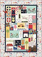 Kim Christopherson ヴィンテージボードウォーク刺繍装飾キルトキット Maywood Studio