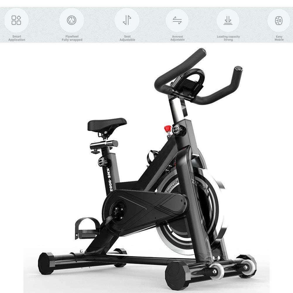 EXUVIATE Bicicleta Estática De Spinning Deportiva,Ciclos Máquinas De Ejercicio para El Hogar Manillar Ajustable Y Asiento Indoor Spinning Ciclo De La Bici, Home Fitness Equipment: Amazon.es: Hogar