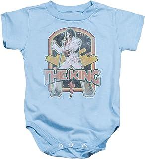 5788d405c Elvis Distressed King Baby Onesie