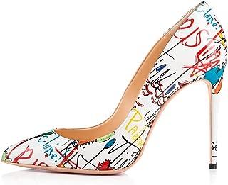 Best white bottom heels Reviews