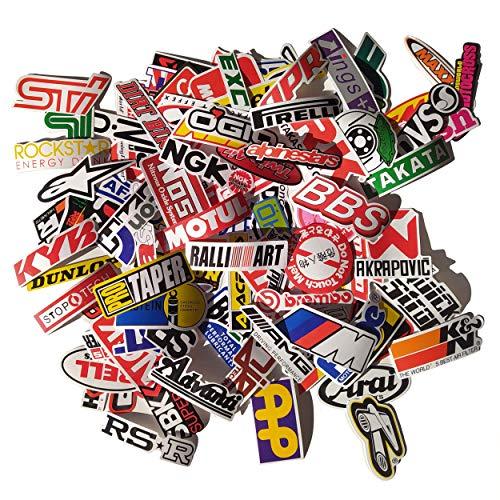 100 pegatinas de Moto Racing, Motocross stickers,pegatinas para coche, moto, camioneta, BMW, Subaru, Pirelli, Akrapovic, AMG, Brembo