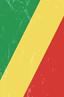 Congo Flag Journal: The Democratic Republic of the Congo Travel Diary, lined Journal to write in