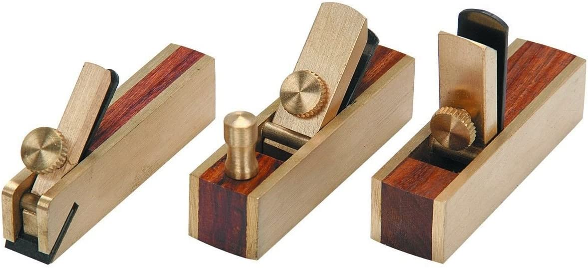 KCHEX Micro Mini Brass Hand Plane Purchase C Hobby Planer Wood All stores are sold Set Finish